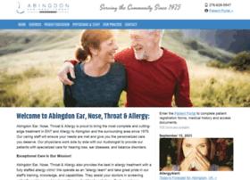 abingdonent.com