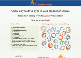 ablazewithtraffic.com