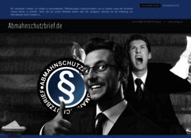 abmahnschutzbrief.com