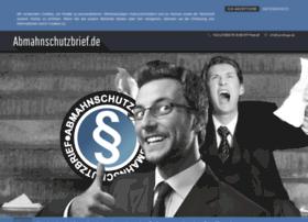 abmahnschutzbrief.de
