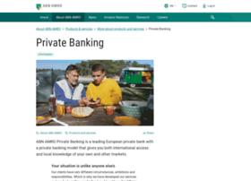 abnamroprivatebanking.com
