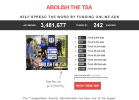 abolish-the-tsa.adbacker.com