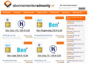 abonnementensimonly.nl