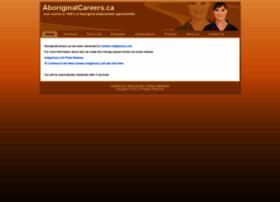 aboriginalcareers.ca