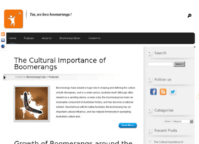 about-boomerangs.com
