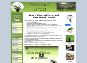 about-olive-leaf-extract.com