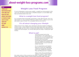 about-weight-loss-programs.com