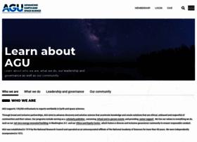 about.agu.org
