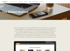 about.babbel.com