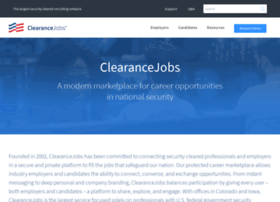 about.clearancejobs.com