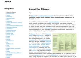 about.eserver.org