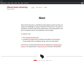 about.illinoisstate.edu