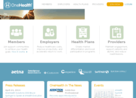 about.onehealth.com