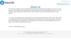 about.voice123.com