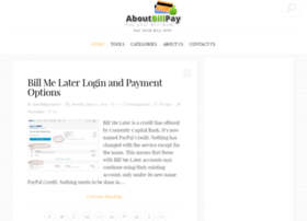 aboutbillpayment.com