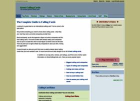 aboutcallingcards.com