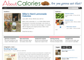 aboutcalories.com