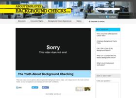 aboutemployeebackgroundchecks.com