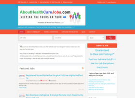 abouthealthcarejobs.com