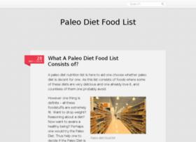 aboutpaleodietfoodlist.wordpress.com