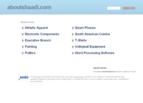 aboutshaadi.com