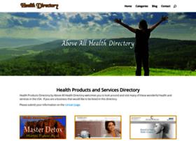 aboveallhealthdirectory.com