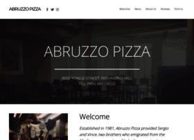abruzzopizza.com