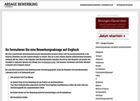 absage-bewerbung.de