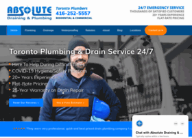 absolute-draining-plumbing.com