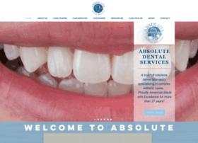 absolutedentalservices.com