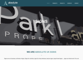 absolutesignsuk.co.uk