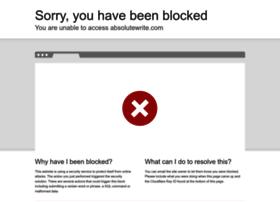 absolutewrite.com