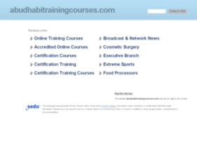 abudhabitrainingcourses.com