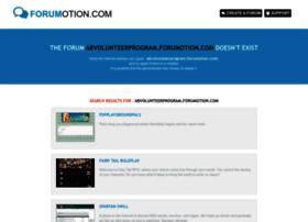 abvolunteerprogram.forumotion.com