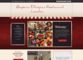abyssiniarestaurant.co.uk