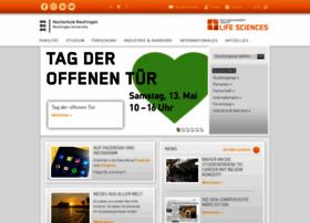 ac.reutlingen-university.de