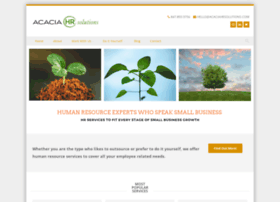 acaciahrsolutions.com
