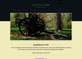 acaciaparkcemetery.org