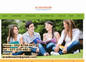 academaim.com