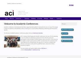 academic-conferences.com