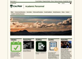 academic-personnel.calpoly.edu