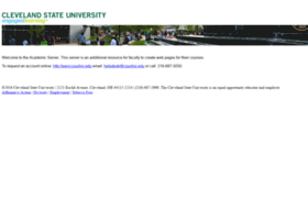 academic.csuohio.edu