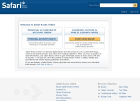 academic.safaribooksonline.com