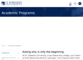 academic.stedwards.edu