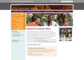 academicaffairs.loyno.edu