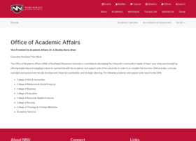 academicaffairs.nnu.edu
