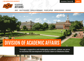 academicaffairs.okstate.edu