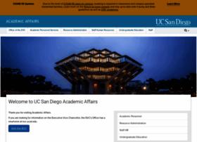 academicaffairs.ucsd.edu