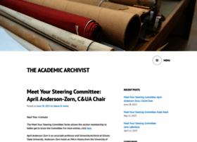 academicarchivist.wordpress.com