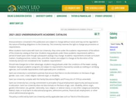 academiccatalog.saintleo.edu